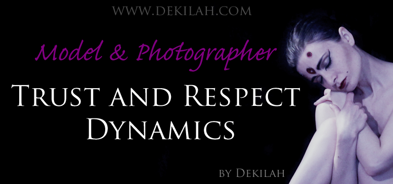 Model and Photographer Trust and Respect Dynamics